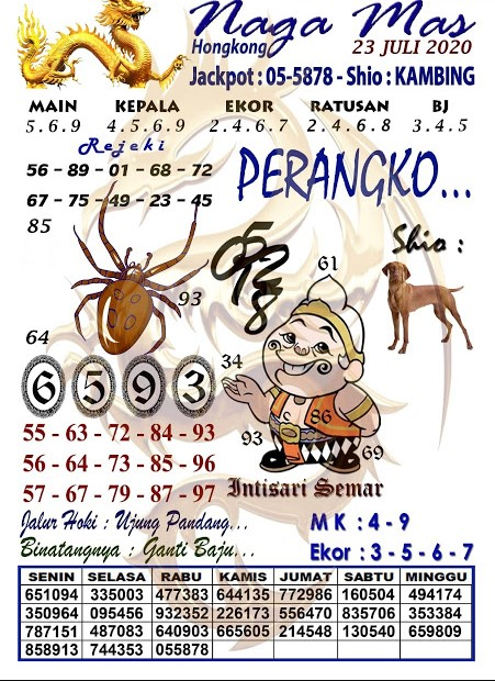 Syair Togel HK minggu 06 september 2020